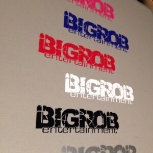 BIGROB Entertainment Sticker 12""